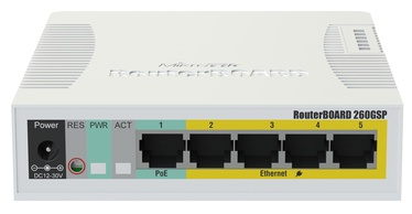 Сетевой концентратор MikroTik RB260GSP