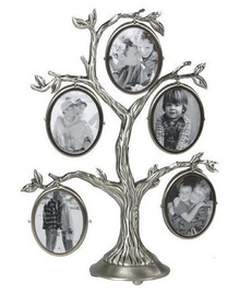 Poldom CK 518 Photo Frame Family Tree BP 5 Silver