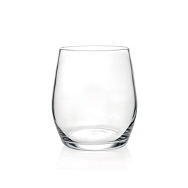Wine drop water tumbler  360ml 6pcs
