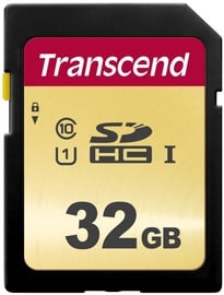 Transcend 500S 32GB SDHC CL10 UHS-I TS32GSDC500S