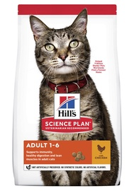 Hill's Science Plan Adult Cat Food w/ Chicken 15kg