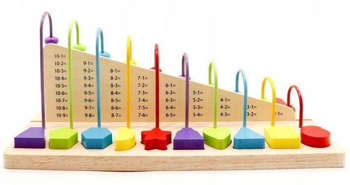 EcoToys Educational Toy Blocks Of Figures
