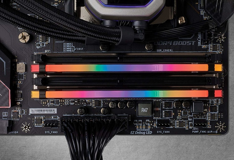 Corsair Vengeance RGB Pro Black 16GB 3000MHz CL15 DDR4 KIT OF 2 CMW16GX4M2C3000C15