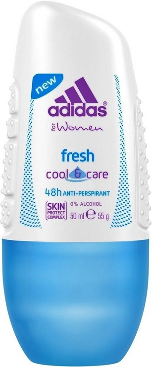 Adidas Fresh Cool & Care 48h Roll On 50ml Antiperspirant