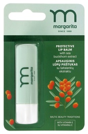 MARGARITA Защитный бальзам для губ с экстрактом облепихи, 4 g