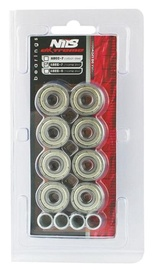 Nils Extreme ABEC 7 Chrome 8pcs