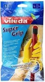 Vileda Gloves Supergrip Size L