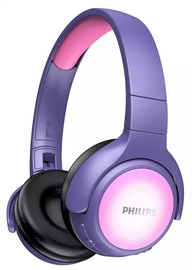 Philips TAKH402 Wireless Headphones Pink