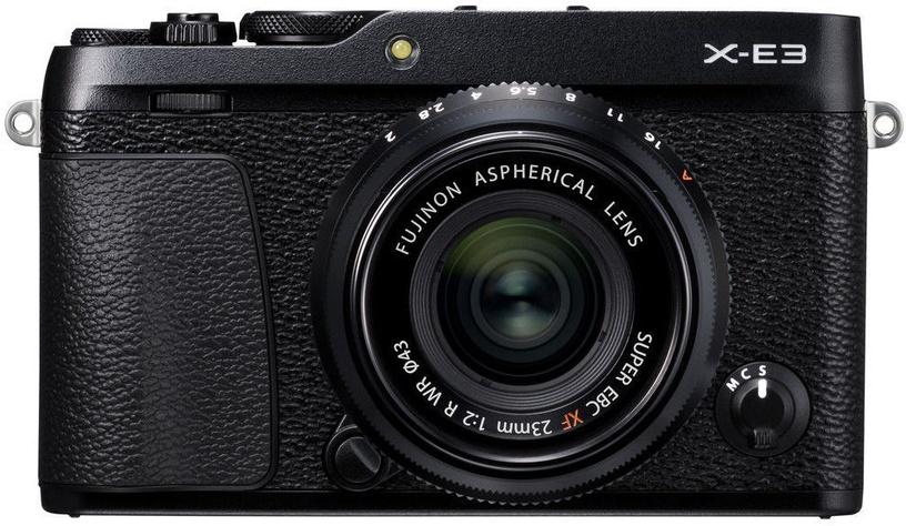 Fujifilm X-E3 + XF 23mm R WR Black