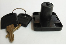 Vagner SDH Furniture Lock YS2022-1 19x22mm Black