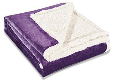 Одеяло DecoKing Teddy Purple, 220x240 см