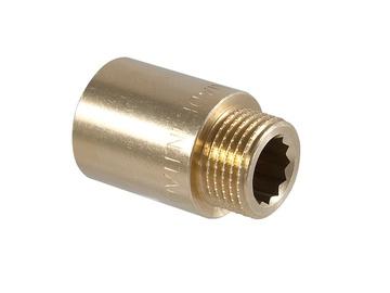 "Kraanijätk TDM Brass 3/4"", 25 mm, messing"
