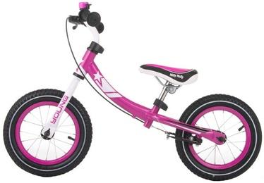 Milly Mally Young Balance Bike Pink 2084