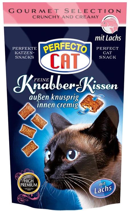 Perfecto Cat Knabber-Kissen With Salmon 50g