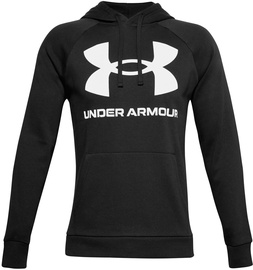 Under Armour Rival Fleece Big Logo Hoodie 1357093-001 Black L