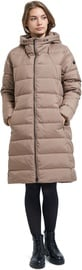 Audimas Puffer Down Coat Pine Bark S