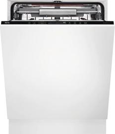 Bстраеваемая посудомоечная машина AEG FSE83807P White