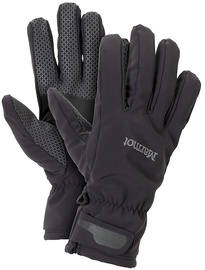 Marmot Gloves Glide Softshell Black L