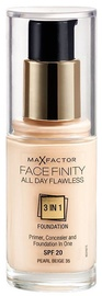 Max Factor Face Finity All Day Flawless 3in1 Foundation 30ml 35