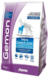 Monge Gemon Mini Puppy and Junior with Tuna and Rice 1kg