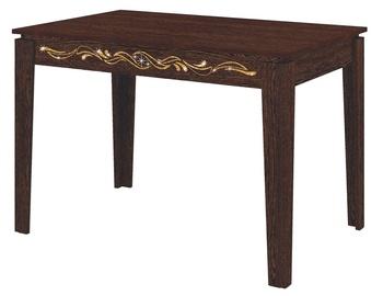 Обеденный стол DaVita Orfej 27.10 Wenge, 1100x750x750 мм