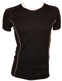 Bars Mens Football Shirt Black/White 185 XXL