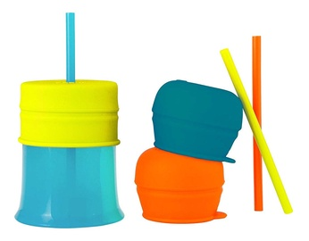 Boon Snug Straw Cup With Lids And Straws B11145