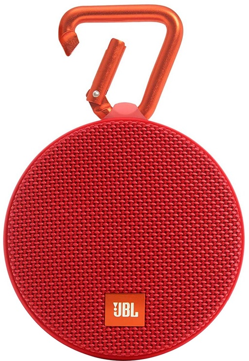 JBL Clip 2 Bluetooth Speaker Red