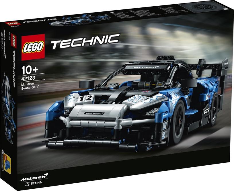 KONSTRUKT LEGO TECH MCLAREN SENNA 42123