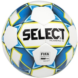 Select Numero 10 FIFA 2019 Ball White/Blue Size 5