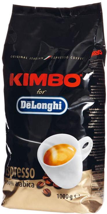 De'Longhi Kimbo Espresso 100% Arabica Beans 1kg