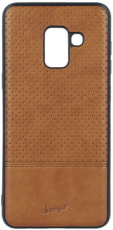 Beeyo Premium Back Case For Huawei P20 Lite Brown
