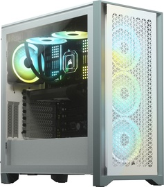 Corsair 4000D Airflow Tempered Glass Mid-Tower ATX White