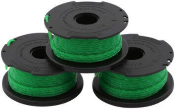 Black & Decker A6486-XJ Trimmer Spool Green 2mm 6m 3pcs