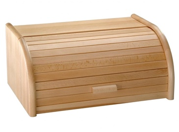 Kesper Wooden Bread Box 39x18x25cm Brown