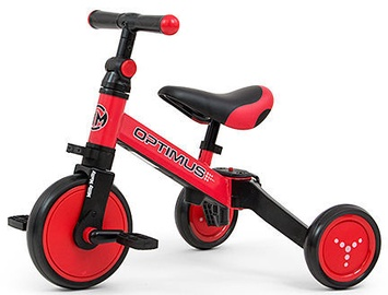 Milly Mally Optimus Ride On 3in1 Red