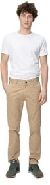 Audimas Tapered Fit Cotton Chino Pants Travertine 176/50