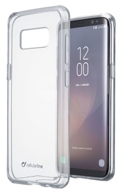Cellular Line Duo Back Case For Samsung Galaxy S8 Plus Transparent