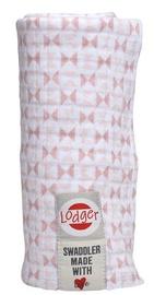 Lodger Swaddler 120x120cm Blush