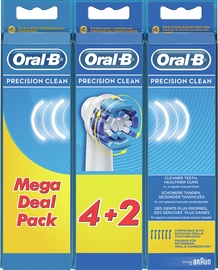 Hambaharja otsik Braun Oral-B Precision Clean EB20 4+2