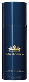 Meeste deodorant Dolce & Gabbana K By Dolce & Gabbana, 150 ml