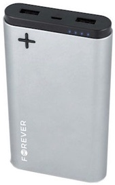 Forever PTB-04L Power Bank Ultra Aluminium 10000mAh Silver