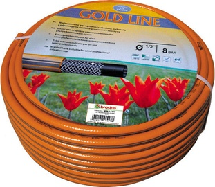 Bradas Gold Line Garden Hose Orange 1/2'' 30m