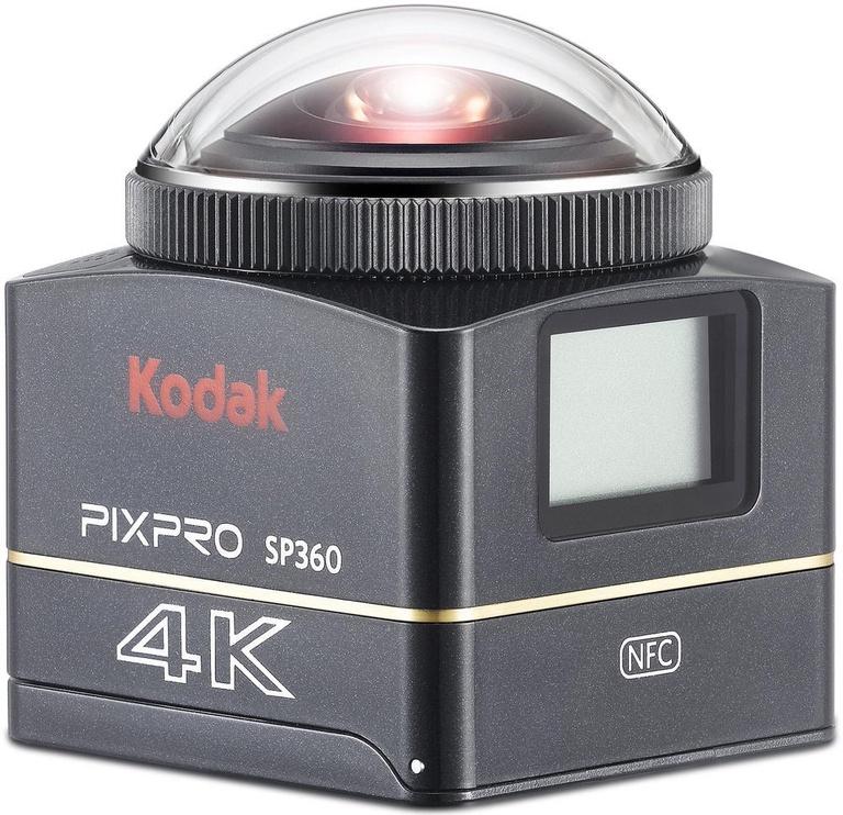 Seikluskaamera Kodak PixPro SP360 4K Dual Pro Kit Black
