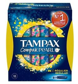Tampax Pearl Compak Regular Applicator Tampons 18pcs