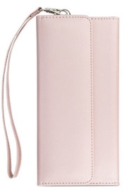 TakeMe Chic Series Universal Wallet Case For Mobilde Devices Till 6'' Rose Gold