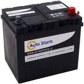 Аккумулятор Auto Starts JIS, 12 В, 60 Ач, 510 а