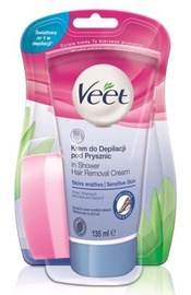 Veet InShower Sensitive Depilatory Cream 135ml