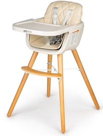 Стульчик для кормления EcoToys Seat, кремовый