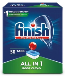 Finish All In 1 Box Powerballl Tablets 50pcs